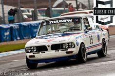 1979 Triumph Dolomite Sprint, Anthony Robinson, Classic Touring Cars Car Magnets, Touring, Race Cars, Classic Cars, British, Racing, Random, Vehicles, Image