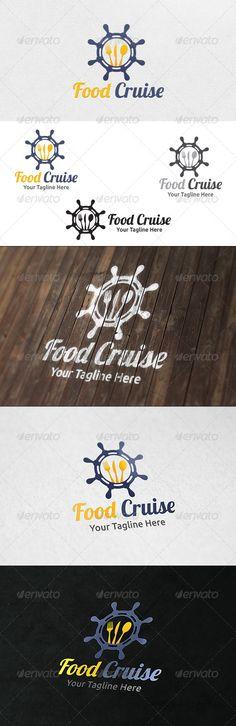 Food Cruise - Logo Template