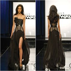 layana project runway dress - Google Search