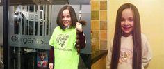 Shawna chops hair for charity Hair Loss, Dublin, Charity, People, Losing Hair, Hair Falling Out, People Illustration, Folk, Fall Hair