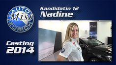 Miss Auto Zürich 2014 - 12 Nadine - Die Kandidatinnen nach dem Casting im Interview! Misswahl auf der Auto Zürich Car Show.  Mehr Infos: http://motorsandgirls.com/2014/10/13/miss-auto-zurich-2014-alle-girls-im-interview/