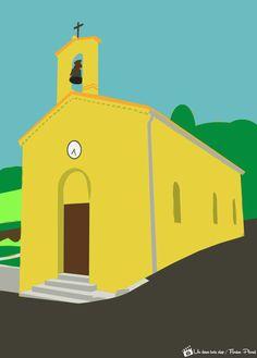 église de La Robine sur Galabre