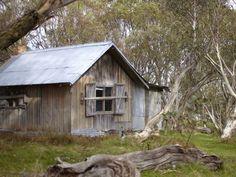 JB Plain Hut, Dinner Plain, High Country, Victoria, Australia