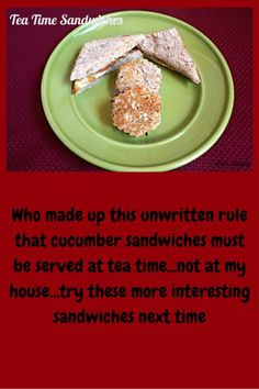 Tea Time Sandwiches