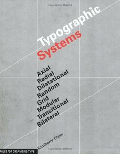 Typographic Systems of Design by Kimberly Elam, Interesting primer on different types of grid systems. Get the physical version, it has lovely inserts that overlay onto designs to break them down.