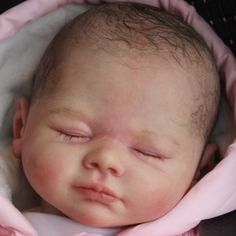 Beautiful Reborn Baby Girl Doll Johanna Karola Wegerich Sam's Reborn Nursery
