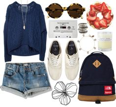 """""""wave"""" by supercoookie ❤ liked on Polyvore"""