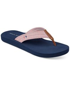 2b280de23a1 TOMMY HILFIGER Tommy Hilfiger Calie Flip-Flops.  tommyhilfiger  shoes   all  women
