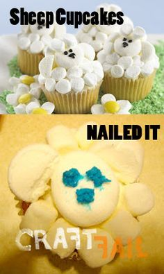 Whoever created the scariest sheep ever: | 24 Bakers Who Totally Nailed It
