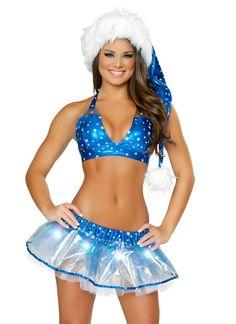 Deluxe Silver Star Christmas Santa Hat #christmas #santa #sexy #sexysanta #noel #xmas #party #whitechristmas #fancydress #costume #fancydresscostume #sparklingstrawberry