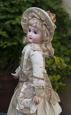 "20"" (50 cm) Very Rare Antique French Bebe Verdier & Gutmacher AT. Thuillier mold"