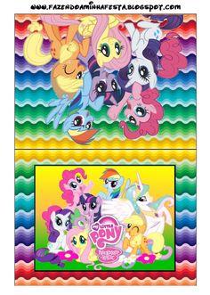 Imprimibles de My Little Pony 8. | Ideas y material gratis para fiestas y celebraciones Oh My Fiesta!