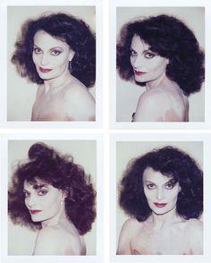 Diane von Furstenberg by Andy Warhol