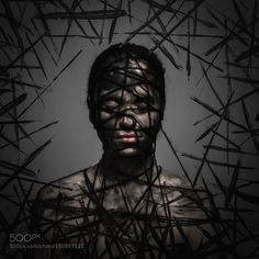 Black Thoughts by zahorko Fine Art Photography #InfluentialLime