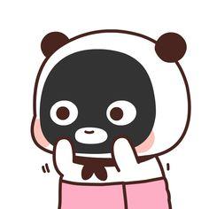 Cute Anime Cat, Cute Cat Gif, Cute Cartoon, Cute Bear Drawings, Chibi Cat, Cute Love Gif, Cute Anime Wallpaper, Kawaii Illustration, Little Panda