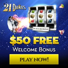 Win Guaranteed Real Cash Money Prizes W/ 21 Dukes US Casinos Releases More Monthly Slots Bonuses. Win Cash Playing The Best Online Casino Slot Games Free All Games Online, Play Slots Online, Play Free Slots, Online Casino Slots, Sites Online, Online Casino Games, Online Casino Bonus, Slot Online, Online Casino Reviews