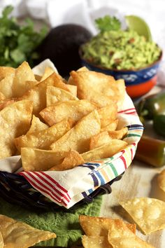 Super easy to make, this Homemade Tortilla Chip recipe is better than anything store bought. One ingredient and ready in minutes!   @suburbansoapbox