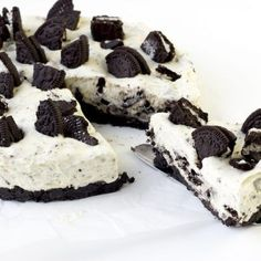 Alle lekkerbekken, taartliefhebbers, oreo fanaten & levensgenieters opgelet... Deze oreo cheesecake taart is écht een ultieme guilty pleasure!