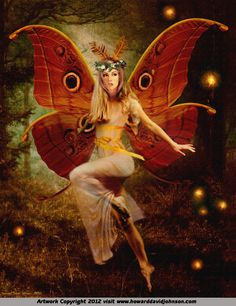 *+*Mystickal Faerie Folke*+*...by Artist Howard David Johnson...
