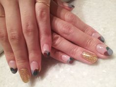 unique french manicure