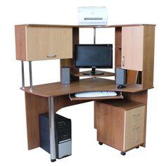 Компьютерный стол Борей, купить компьютерный стол по самой низкой цене Киев, Украина, компьютерные столы.