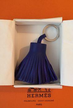 Hermès Carmen Bleu Électrique