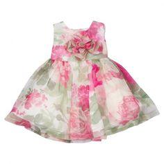951278e4eb23 David Charles London Baby-girls Classic Print Dress  Clothing Kids Labels