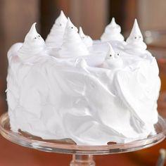 Ghostly cake #Halloween