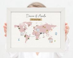 Button Family Picture, Family Picture Frames, Picture Shelves, Create Your Own Map, First Home Gifts, Wedding To Do List, Family Wall Decor, Baby Milestone Cards, Grey Home Decor
