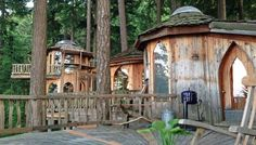 Owner Suzanne Dege' moved to Orcas Island with $400, a VW van and three cats. Today, she owns one of the most unique vacation rentals in Washington state. visit page to see all the amazing pictures - so beautiful