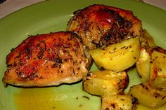 Roasted Rosemary Chicken with Potatoes on MyRecipeMagic.com