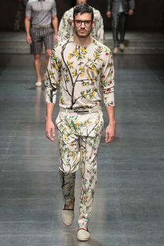 bbc96371950b Dolce  amp  Gabbana Spring 2016 Menswear - Collection - Gallery - Style.com  Fashion