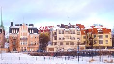 Jugend Style Buildings in Old Eira, Helsinki.
