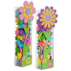 Candy Filled Flower Tube (set)