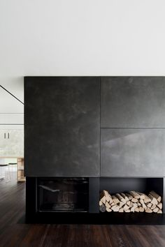 Home Decoration Cheap Ideas Fireplace Hearth, Modern Fireplace, Living Room With Fireplace, Fireplace Design, Home Living Room, Fireplaces, Room Inspiration, Interior Inspiration, House Cladding