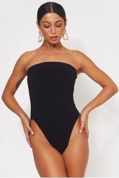619e939bf6daa The Fashion Bible Black Strapless Bodysuit Black Strapless Bodysuit