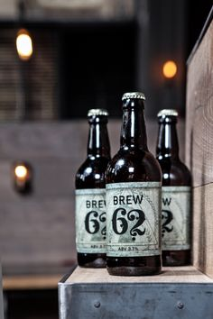 Our very own brew brand, Brew 62!