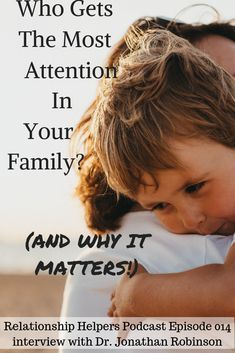 Who Gets The Most Attention In Your Family? (And Why It Matters!) Learn how to have a better relationship with your children today by turning difficult moments into teachable moments from this Relationship Helpers interview with Dr. Gentle Parenting, Parenting Advice, Kids And Parenting, Parenting Classes, Long Lasting Relationship, Relationship Advice, Strong Relationship, Happy Marriage, Marriage Advice