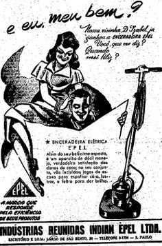 Anúncio  de Enceradeira, Estadão, 1947