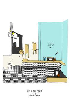 Le Coiffeur / Margaux Keller Design Studio + Bertrand Guillon Architecture
