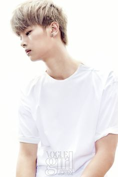 VIXX N - Vogue Girl Magazine May Issue - too young yet here, but so much potential Korean Boy Bands, South Korean Boy Band, Ken Vixx, Musica Pop, Jung Taekwoon, Girls Magazine, Vogue Magazine, Girl Korea, Korean K Pop