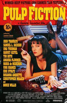 Pulp Fiction (1994) Original One-Sheet Movie Poster