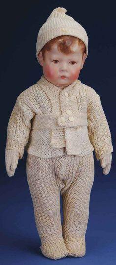 Kathe Kruse Doll I Character Child