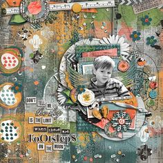 Layout by Loni using Get Artsy: My Journey by Traci Reed and Jenn Barrette