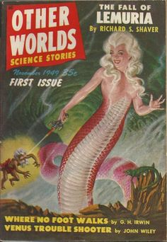 Other Worlds Science Stories, Nov 1949. Cover Art: Malcolm Smith