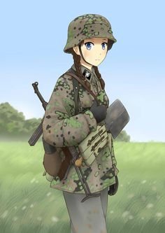 DeviantArt is the world's largest online social community for artists and art enthusiasts, allowing people to connect through the creation and sharing of art. Anime Military, Military Girl, Guerra Anime, Anime Krieger, Anime Weapons, Anime Warrior, American Crime, Girls Frontline, Anime Art Girl