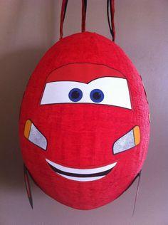 En route pour la Piston Cup avec la piñata comme