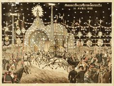 Inauguration de L'Exposition Universelle; 14 avril 1900