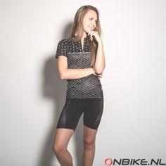 """➤ Primal Wear dames fietsshirt """"Polka Line"""" Primal Wear, Line, Cycling, How To Wear, Tops, Women, Fashion, Moda, Biking"""