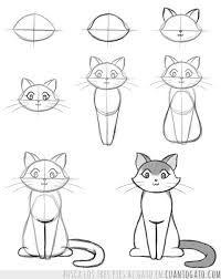 Resultado de imagen de gatitos dibujos